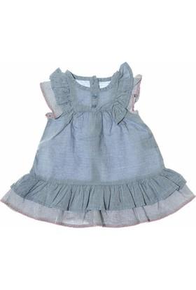 Cikoby CK9666 Kız Dokuma Elbise