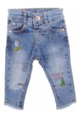 Cikoby CK9796 Kız Kot Pantolon