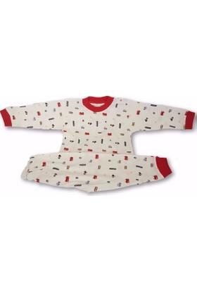 Sebi 52122 Unisex Arabalı Pijama Takımı