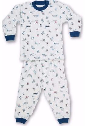 Sebi 52132 Unisex Köpek Baskılı Pijama Takımı
