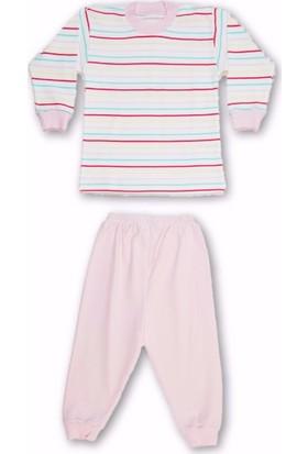 Sebi 52239 Kız Çizgili Pijama Takımı
