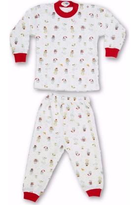 Sebi 52505 Unisex Şemsiyeli Ayıcık Pijama Takımı