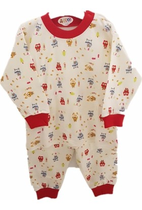 Sebi 90118 Erkek Kedili Pijama Takımı