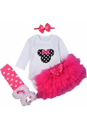 Neşeli Bebek 90133 Kız Tütülü Takım