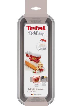 Tefal J1640114 Delibake Dikdörtgen 30 cm Kek Kalıbı Kırmızı - 2100104737