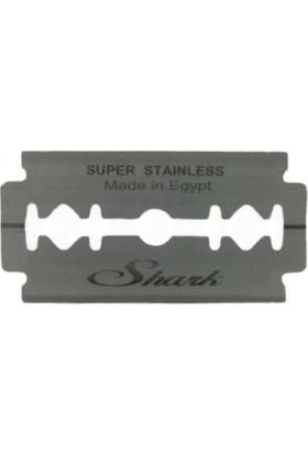 Shark Super Stainless Çift Taraflı Tam Jilet 5 Adet