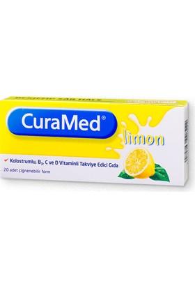 Curamed Limon Aromalı 20 Pastil