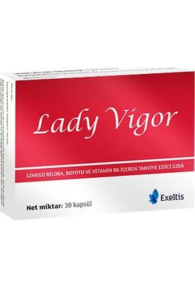 Exeltis Lady Vigor 30 Kapsül