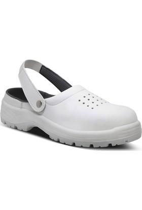 Yeşil/Ersa Beyaz İş Sandaleti