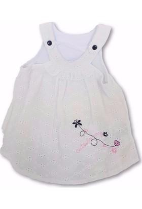 Veo 8584 Kız Bebe Elbise