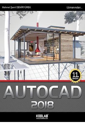 Autocad 2018 - Mehmet Şamil Demiryürek