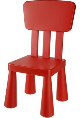 Hepsiburada Home Modüler Mini Sandalye Kırmızı
