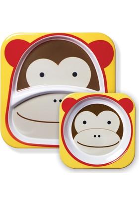 Skip Hop Tabak Ve Kase Hediye Seti Maymun