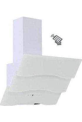 Whitepoint Ariane White Uzaktan Kumandalı Dokunmatik Davlumbaz