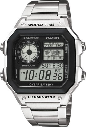 Casio AE-1200WHD-1AVDF Digital Erkek Kol Saati