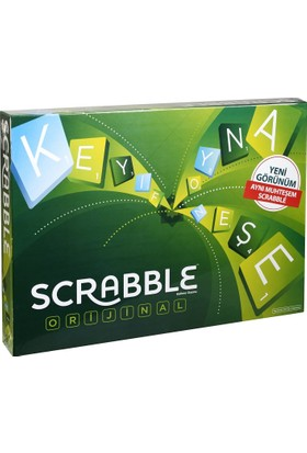 Mattel Scrabble Orıgınal Türkçe Mtl-Y9611