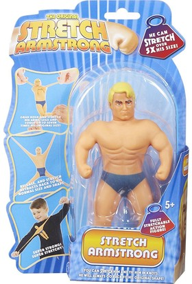 Mini Stretch Armstrong Uzayan Lastik Adam 18 cm