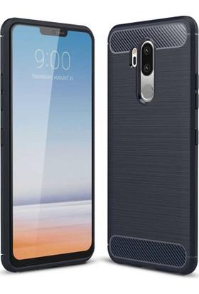 CoverZone LG G7 ThinQ Room Extreme Silikon Kılıf Lacivert