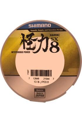 Shimano Kairiki SX8 150 Mt M.Green Örgü Misina 0,10 Mm 6 Kg