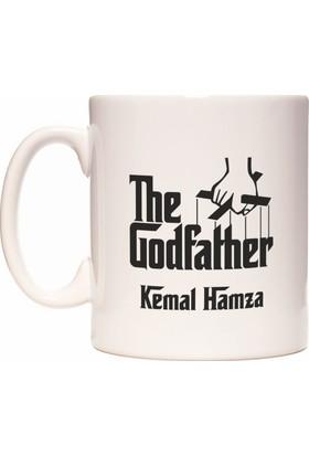 Rockn Fox The Godfather Baba Kişiye İsme Özel İsim Yazılabilir Babalar Günü Kupa Bardak