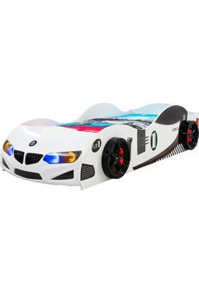 Derman Yatak Arabalı Yatak GT Model Beyaz