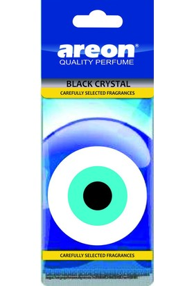 Areon Nazar Boncuğu Black Crystal Asma Koku 104090