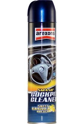 Arexons Vanilya Kokulu Torpido ve Araç Tüm İç Alan Temizleme Spreyi 400 ml
