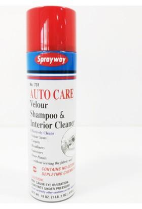 Sprayway Araç ve Dışı Her Türlü Koltuk Kumaş Halı Temizleme Köpüğü 422758