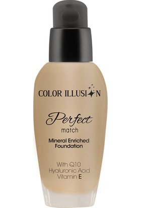 Huncalife C. I. Perfect Match Fondöten - Nude 35 ml