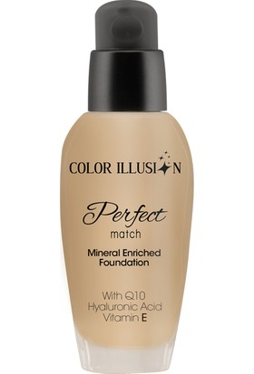 Huncalife C. I. Perfect Match Fondöten - Açık Bal 35 ml