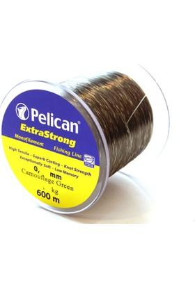 Pelican 038 Bobin Misina 600 mt Kamuflaj Yeşil Extra Strong