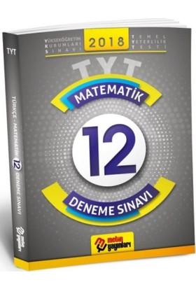 Metin Yks 1. Oturum Tyt Matematik 12 Deneme Sınavı