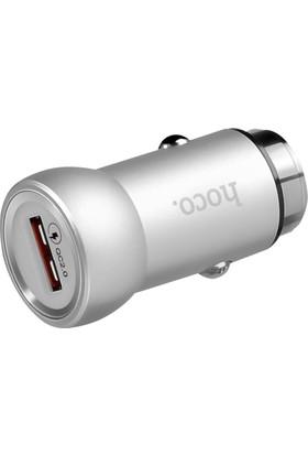 Hoco Z4 Çakmaklık Araç Şarj Cihazı - Gümüş