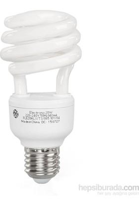 General Electric 20W Spiral Enerji Tasarruflu Ampul Sarı