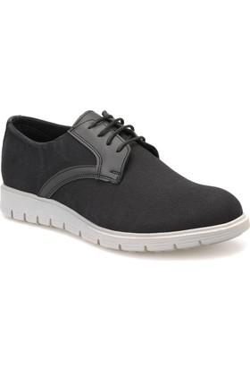 Jj-Stiller 501 Siyah Erkek Ayakkabı