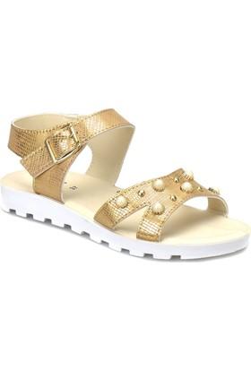 Polaris 81.311702.Z Altın Kadın Sandalet