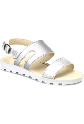 Polaris 81.311704.Z Gümüş Kadın Sandalet