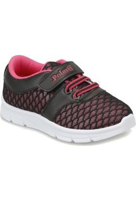 Polaris 81.510356.P Siyah Kız Çocuk Ayakkabı