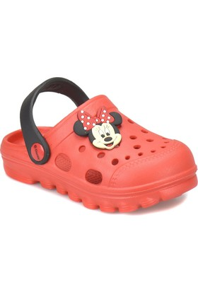 Mickey Mouse 92617 Fuşya Kız Çocuk Terlik
