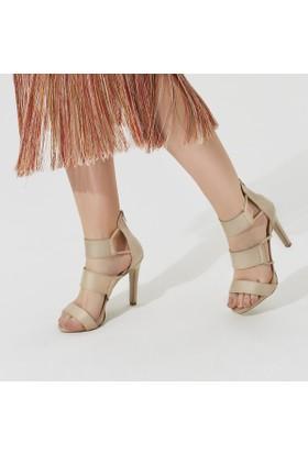 Butigo Bona12Y Ten Rengi Kadın Sandalet