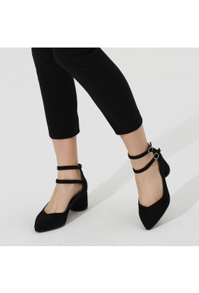 Butigo Carina 85Z Siyah Kadın Gova Ayakkabı