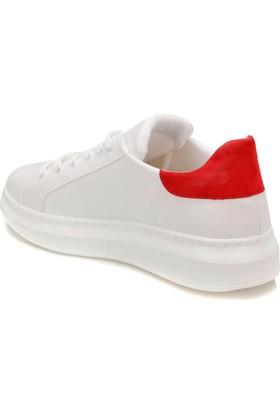Butigo Dino 01Z33Z Beyaz-Kırmızı Kadın Sneaker Ayakkabı
