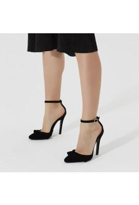 Butigo Fiera 85Z Siyah Kadın Stiletto