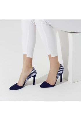 Butigo Lady 74Z Lacivert Kadın Ayakkabı