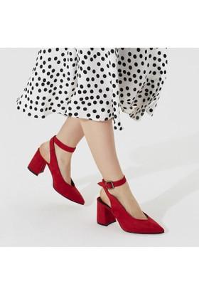 Butigo More33Z Kırmızı Kadın Ayakkabı