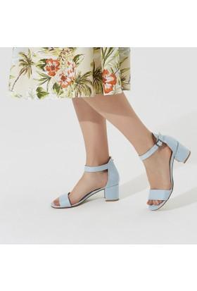 Butigo Tom Z Açık Mavi Kadın Sandalet