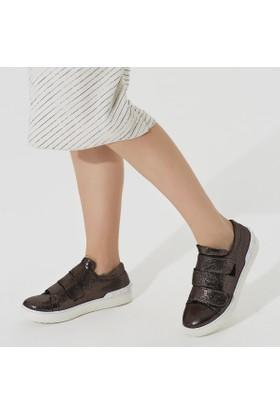 Butigo Tor*06Y Gümüş Kadın Sneaker Ayakkabı