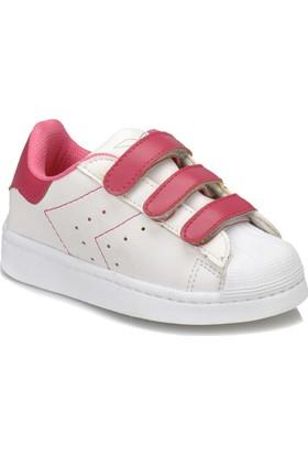 Kinetix Monty Beyaz Pembe Kız Çocuk Sneaker