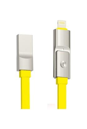 iXtech USB Şarj & Data Kablosu IX11 - Sarı