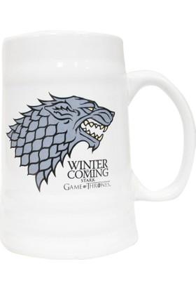 Game of Thrones Stark Ceramic Stein Kupa